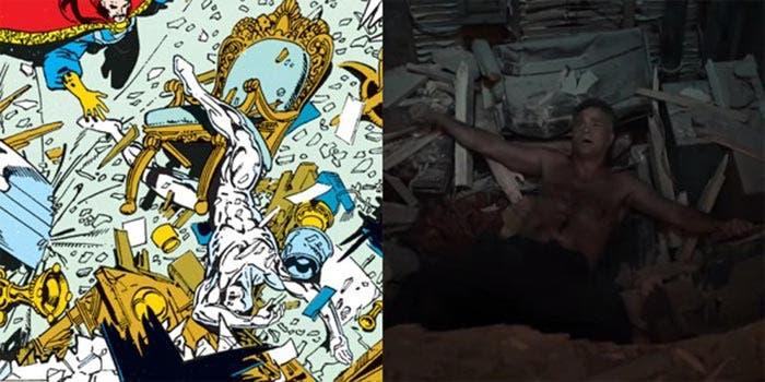 La referencia de Silver Surfer en Vengadores: Infinity War (2018)