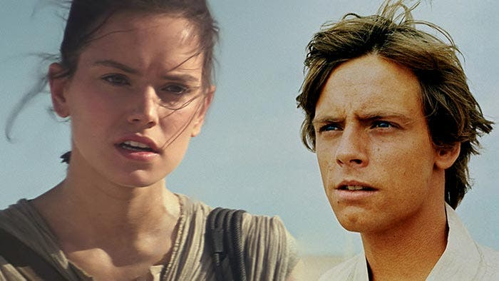 STAR WARS: Mark Hamill confirma que Rey es la hija de Luke Skywalker