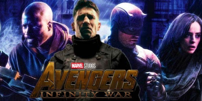 ¿Qué va a pasar con las series de Netflix después del final de Vengadores: Infinity War?