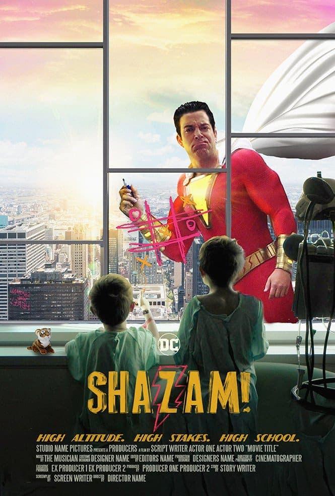 fan póster de Shazam!