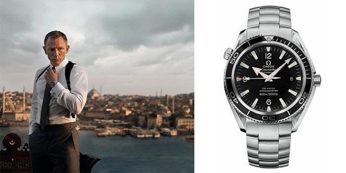 'Skyfall' (Rolex Seamaster Planet Ocean 600M) | Los 5 relojes más legendarios de la historia del cine