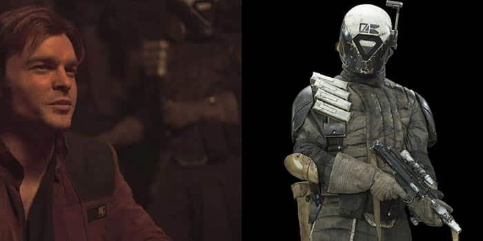 Tam Posla, personaje de Star Wars nacido en Rogue One, aparece en el tráiler de Han Solo