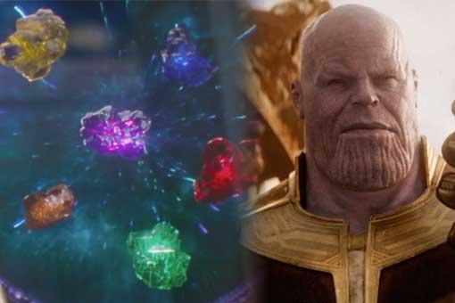 Thanos y la gema del alma en 'Vengadores: infinity war'