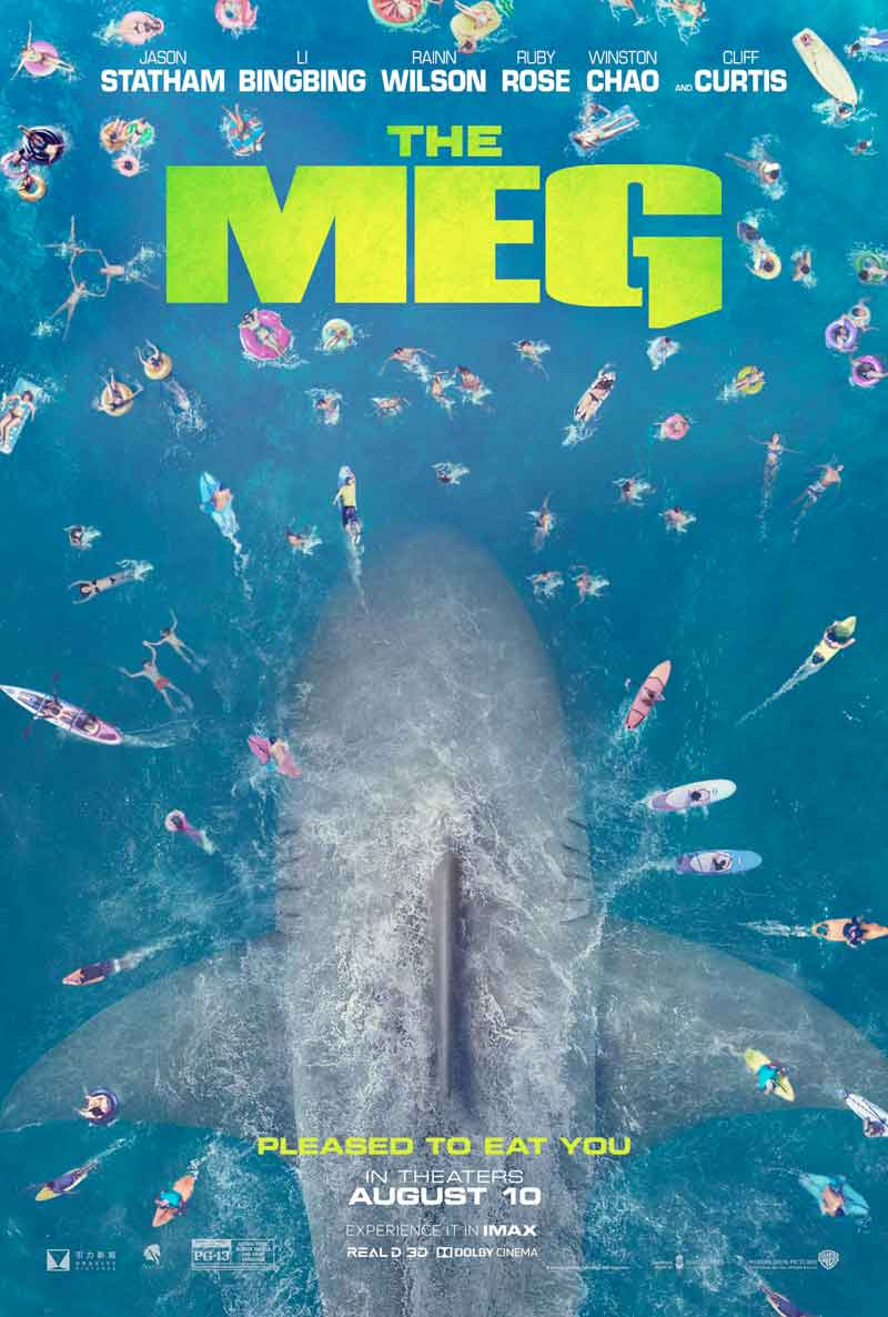 the meg megalodón
