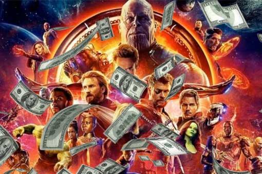 Vengadores: Infinity War record de recaudación de una película de Superhéroes
