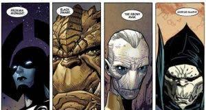 villanos que acompañan a Thanos en Vengadores: infinity war