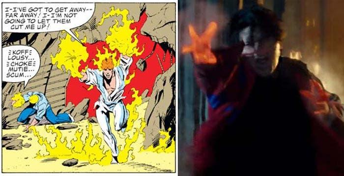 Puño de fuego en Deadpool 2