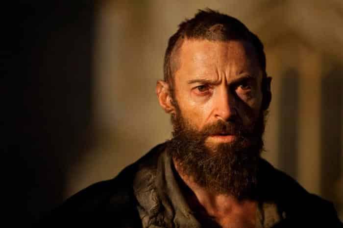 Hugh Jackman en Los miserables