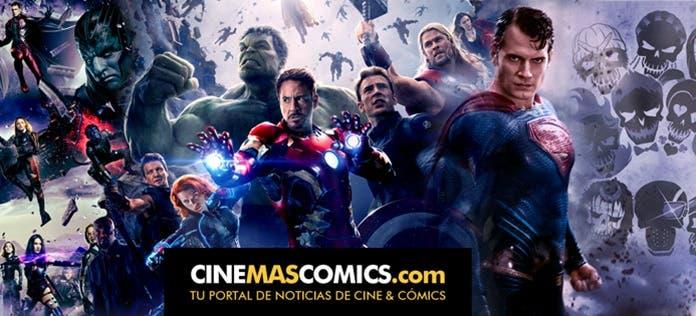 Cinemascomics.com es un portal de noticias y tráilers de cine especializado en Star Wars, películas de Marvel y DC Comics, además de series y videojuegos.