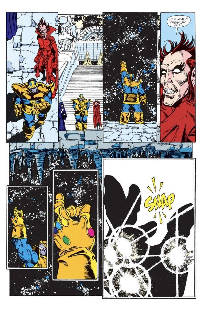 Vengadores: infinity war, Snap!