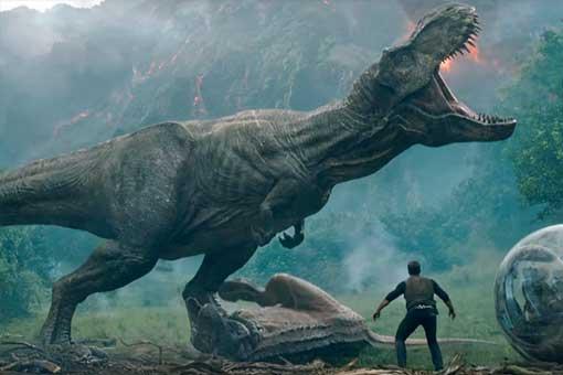 Tyrannosaurus rex Jurassic World 2: El reino caído
