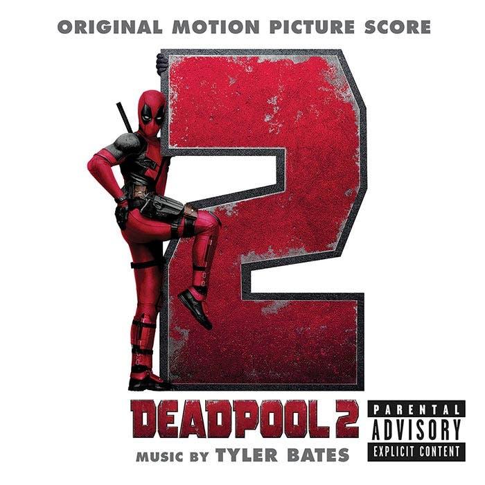 La portada de la BSO de Deadpool 2