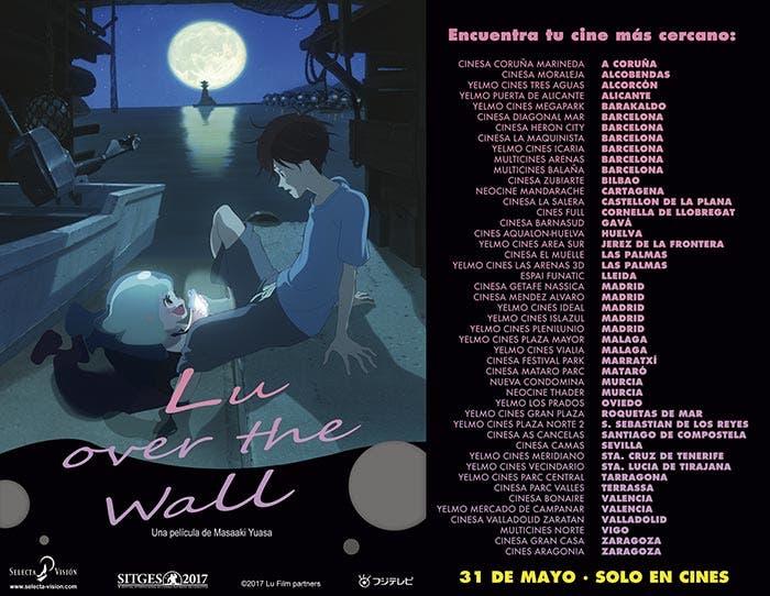 Los cines donde se podrá ver Lu Over the Wall (Masaaki Yuasa)