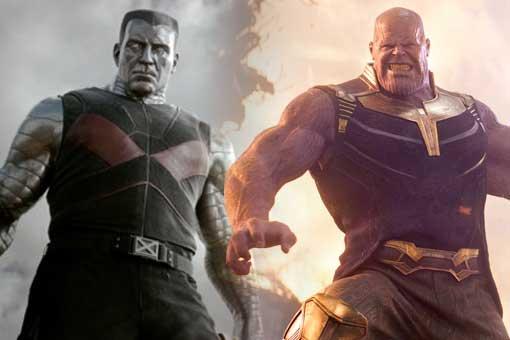Coloso vs Thanos