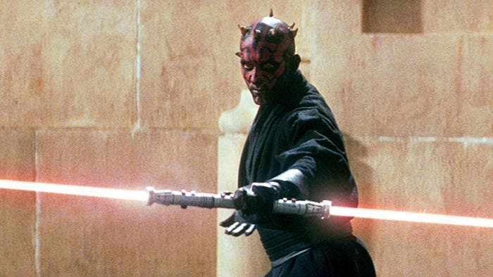 Darth Maul en Star Wars: La amenaza fantasma