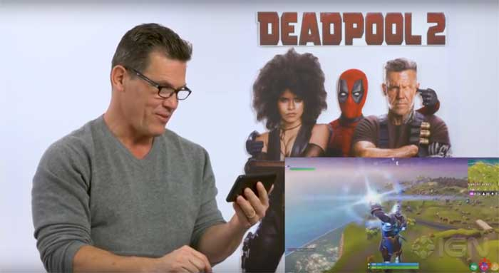 Deadpool 2: Josh Brolin Fortnite Thanos