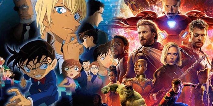 Detective Conan se ha cargado a Vengadores: Infinity War