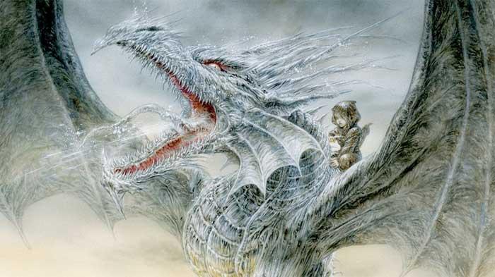 George R. R. Martin el dragon de hielo Juego de Tronos
