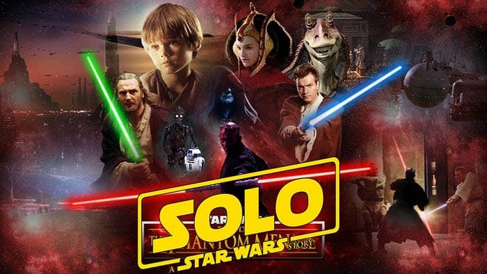 La conexión entre el Episodio I de Star Wars y Han Solo