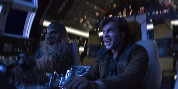 Escena de Han Solo: Una historia de Star Wars