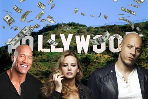 estrellas mejor pagadas de Hollywood