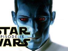 El Gran Almirante Thrawn podría salir en Star Wars 9 (2019)