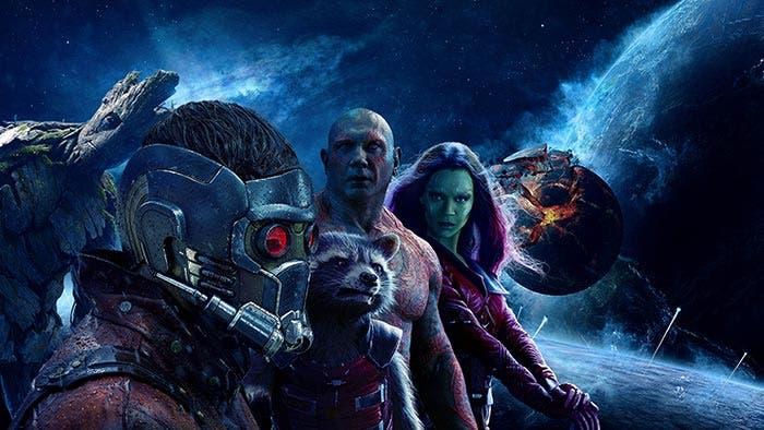Guardianes de la Galaxia en Vengadores: Infinity War (2018)