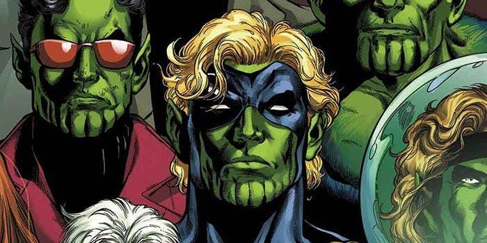 La Guerra Kree-Skrull en Marvel Comics