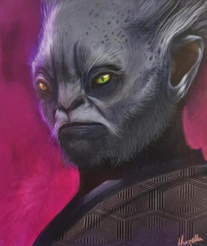 Arte conceptual de Han Solo: Una historia de Star Wars: Dryden Vos
