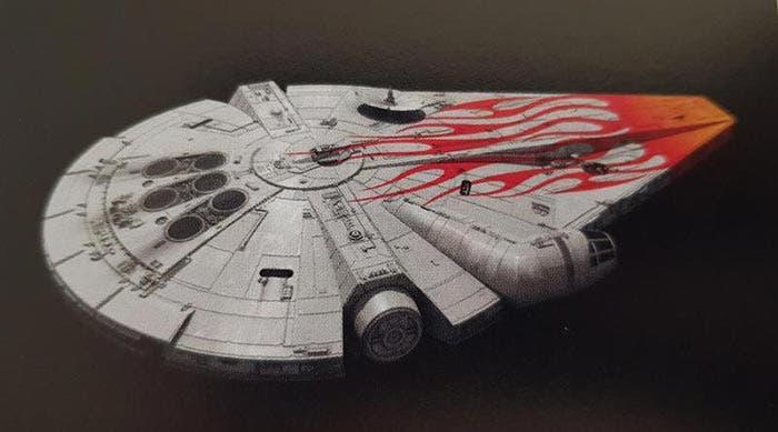 Arte conceptual de Han Solo: Una historia de Star Wars: Halcón Milenario