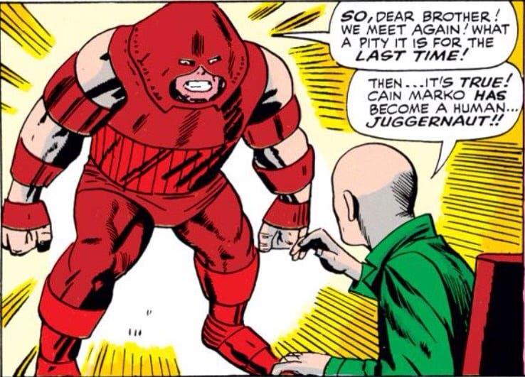 juggernaut Charles Xavier
