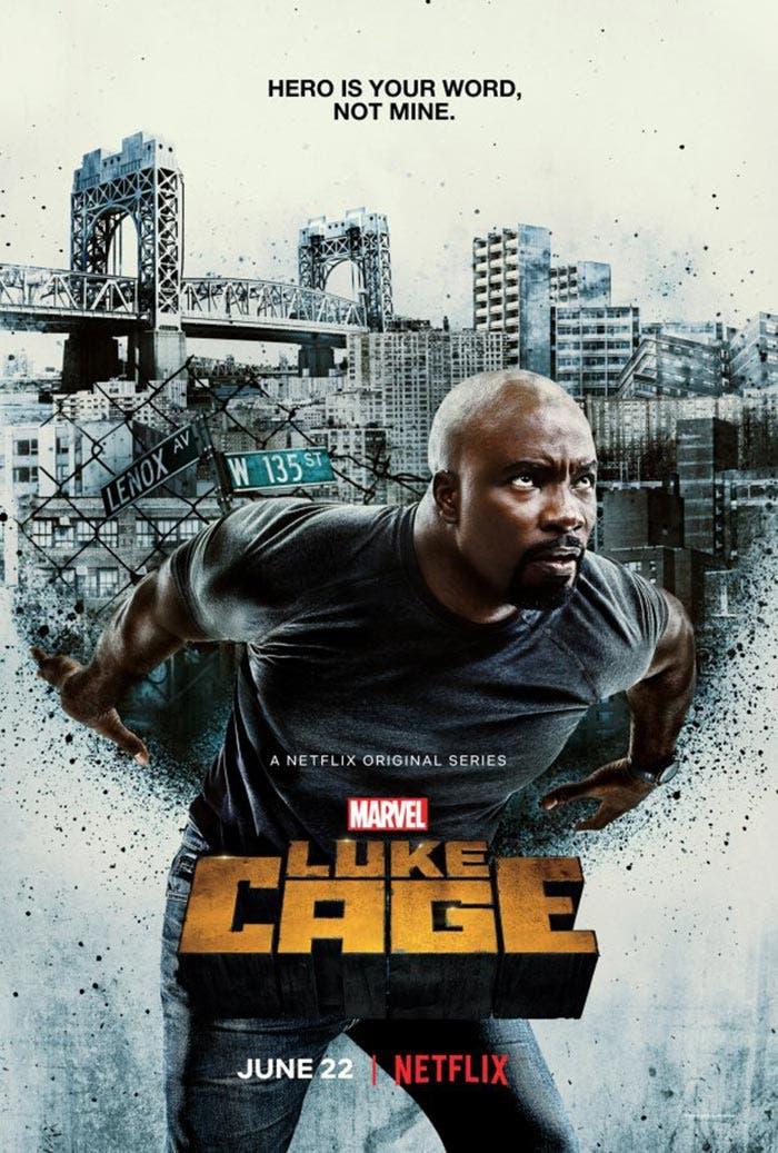 Póster oficial de la temporada 2 de 'Luke Cage' en Netflix