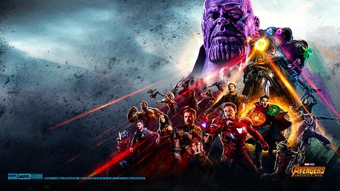 Wallpaper no oficial de Vengadores: Infinity War