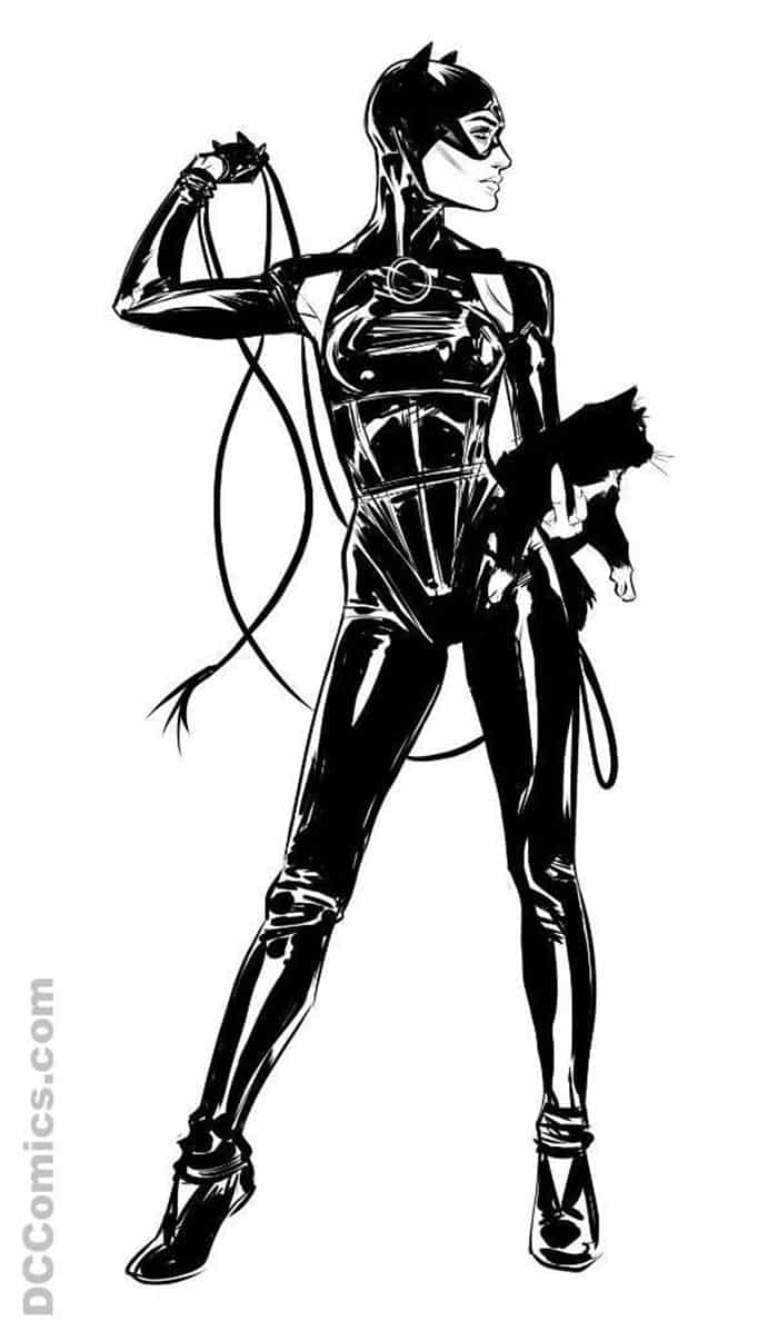 Nuevo traje de Catwoman (DC Comics)