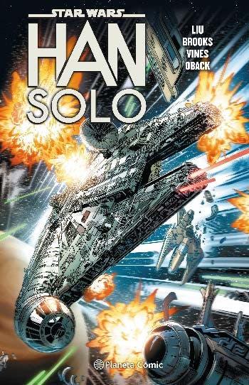 Portada de tomo integral cómics Han Solo