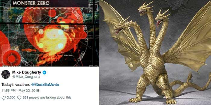 rey ghidorah Godzilla 2