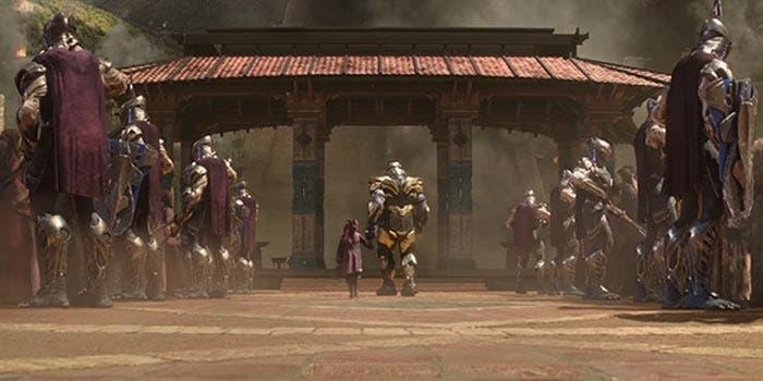 Gamora, la hija de Thanos, en Vengadores: Infinity War
