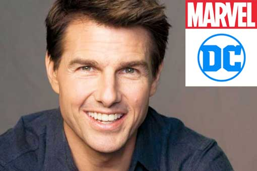 Tom Cruise DC Comics Marvel