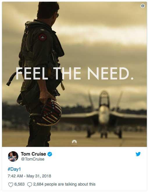 Top Gun 2 Tom Cruise Val kilmer