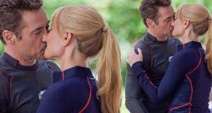 Tony Stark y Pepper Potts en Vengadores: Infinity War