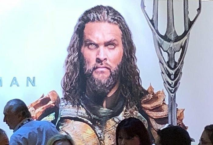 Primer vistazo al nuevo traje de Jason Momoa en Aquaman