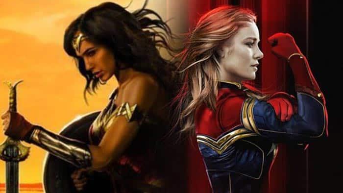 Wonder Woman vs Capitana Marvel