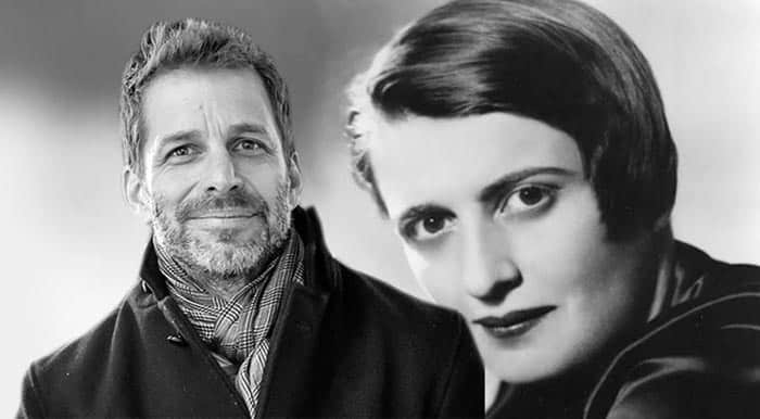 Zack Snyder hará El manantial (The Fountainhead) de Ayn Rand