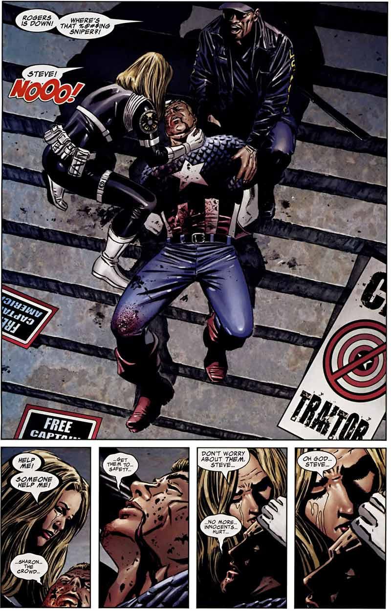 La muerte de Capitán América