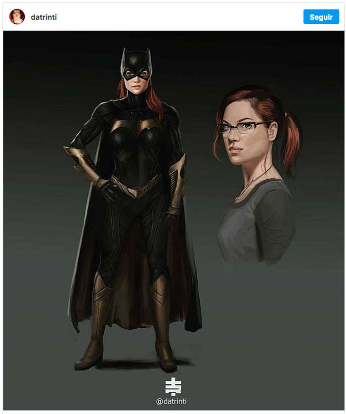 Jane Levy (Evil Dead) Batgirl