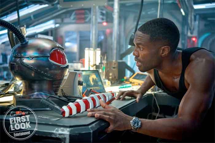 Primer vistazo al villano de la película Aquaman, Black Manta.