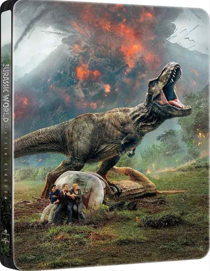 Blu-ray de Jurassic World 2: El reino caído