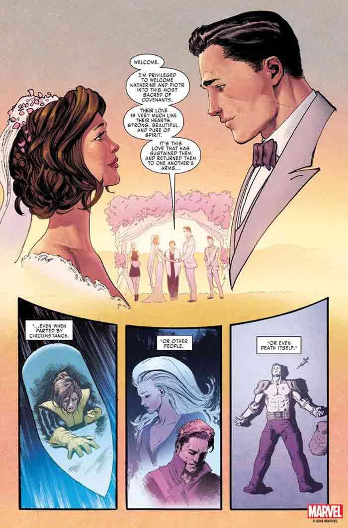 Boda de X-Men (Marvel Comics)