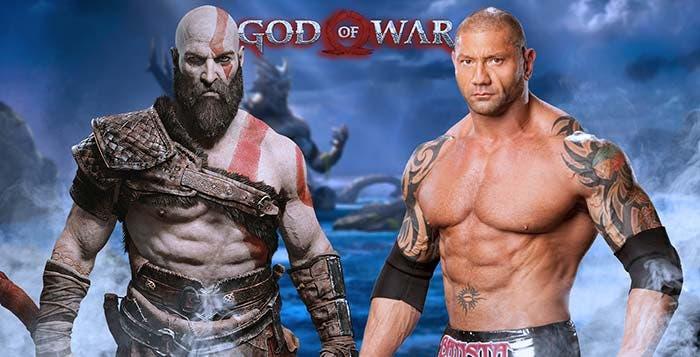 Dave Bautista podría ser Kratos en una película de God of War