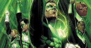 Los héroes de Green Lantern Corps